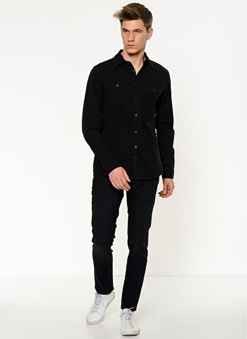 Mustang Jean Pantolon | Oregon - Slim Fit Lacivert